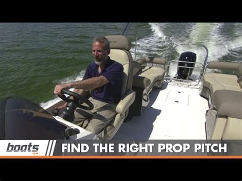 what size prop do i need for my pontoon boat jarrett edwards helps you choose the proper prop doovi