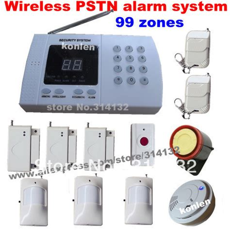 99 Zone Auto Burglar Wireless 99 Zone Auto Home Wireless Alarm System For Home Security