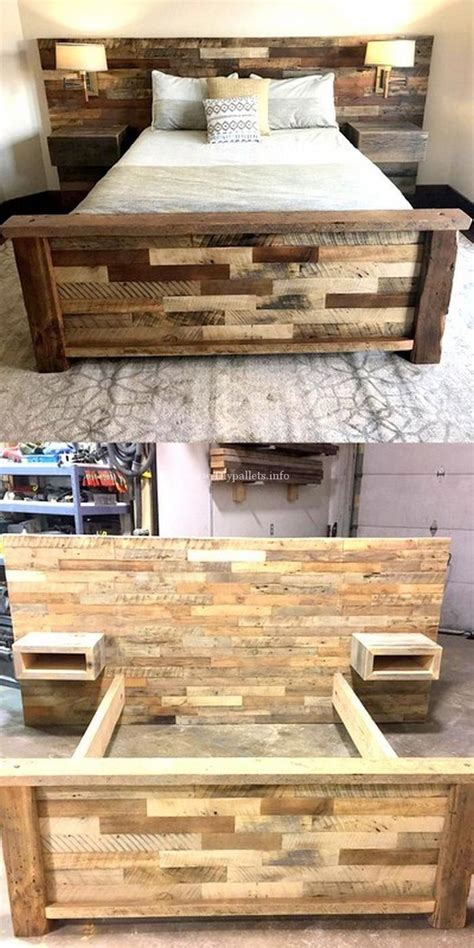 pallet projects wonderful wooden pallets bed projects