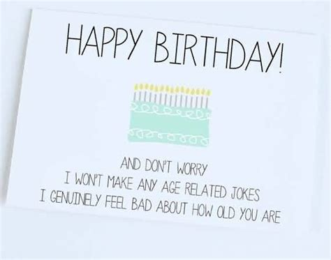 Jokes To Put On A Birthday Card Nice Funny Jokes E Card Happy Birthday Nicewishes