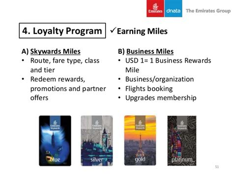 emirates loyalty program strategic management emirates airline