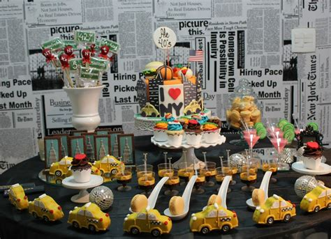new york themed birthday party fabulous new york themed ideas b lovely events