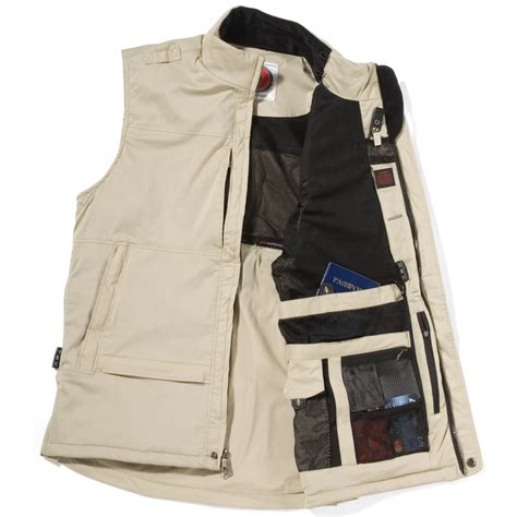 vest with pockets the 29 pocket travel vest hammacher schlemmer
