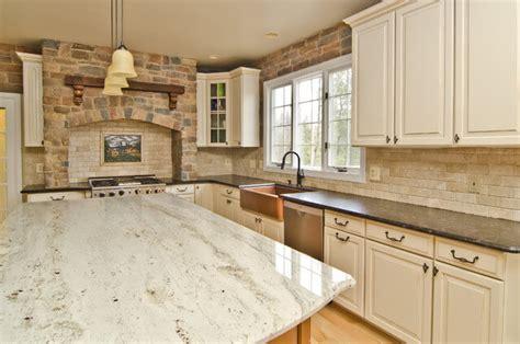 river white granite white cabinets backsplash ideas kitchen ideas for your granite countertops edmonton