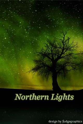 Northern Lights 2009 by Northern Lights Iphone By Fudgegraphics On Deviantart