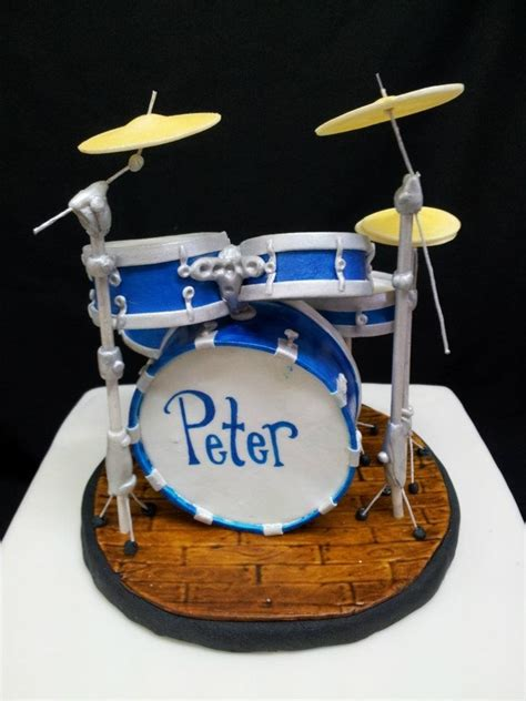 Tutorial Drum Set | drum cake cakecentral com