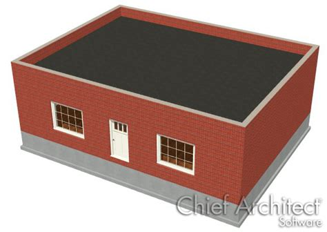 tile roof parapet creating a parapet or flat roof
