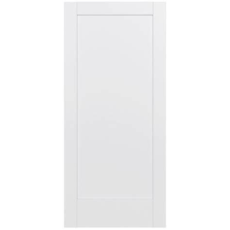 Jeld Wen 36 In X 80 In Moda Primed White 6 Panel Solid | jeld wen 36 in x 80 in moda primed white 1 panel solid