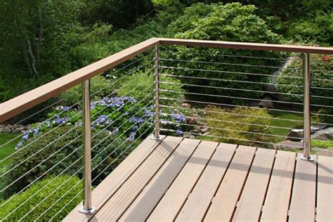 cable deck railing cost deck railing photo gallery stainless steel cable railing system with
