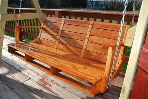 how to make a swing out of pallets 12 diy upcycled pallet projects try out at home 99 pallets