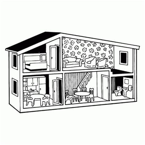desenho de casas desenho de casa de dois andares para colorir tudodesenhos