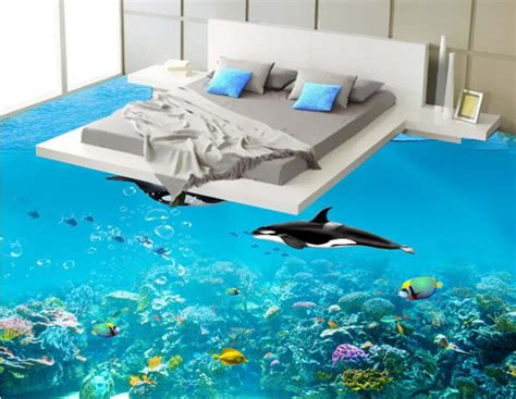 How To Make A 3d Dolphin Out Of Paper - buy wholesale dolphins wallpaper from china