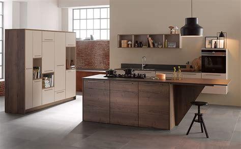 graue küche wohnzimmer vintage look