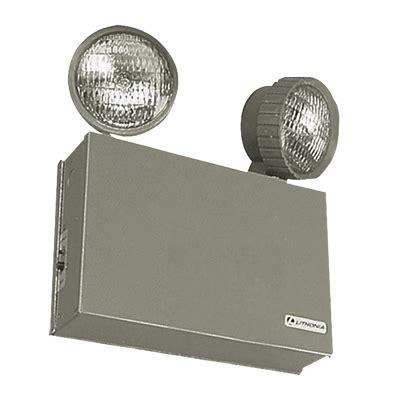 Emergency Lighting Fixtures Lithonia Lighting Acuity Elt50 Titan 174 Top Mount Two Emergency Lighting Unit Incandescent