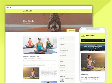responsive website templates for yoga best bootstrap responsive web design templates 40