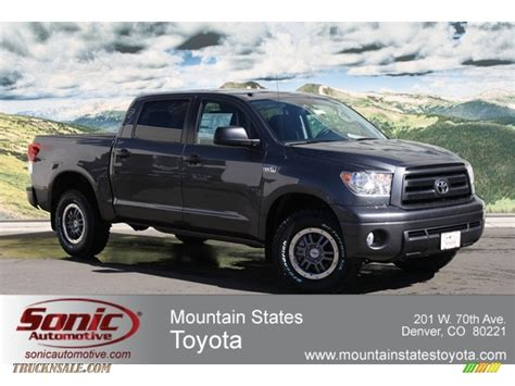 Mtn States Toyota 2012 Toyota Tundra Trd Rock Warrior Crewmax 4x4 In