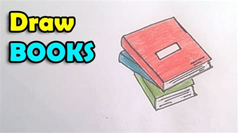 L Drawing Book by How To Draw A Book Step By Step For Techers Day