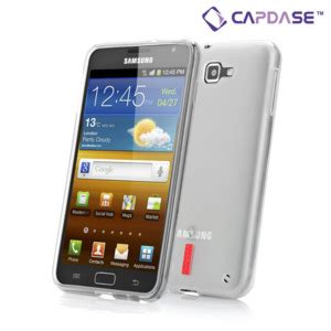 Graphic Softjacket capdase soft jacket xpose samsung galaxy note white