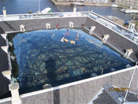 vloer scheepvaartmuseum windroos wordt glaskap 187 bouwwereld nl