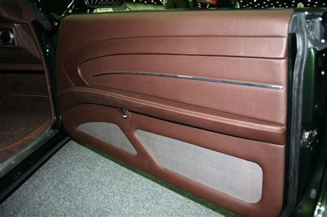 Smitty S Custom Automotive Chevelle Green With Brown Auto Interior Door Panels