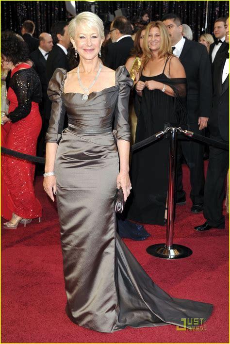 Helen Mirren Claims Award At The Oscars by Helen Mirren Oscars 2011 Carpet Photo 2523724