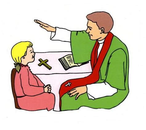 sacrament of reconciliation coloring pages and clipart