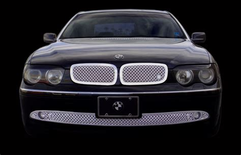 Terios Front Grille Cover Model Bentley Chrome bmw 745i 745li chrome bentley dual weave mesh grille
