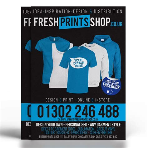 flyer design and printing uk flyer print fresh prints specialising in design