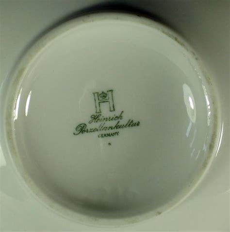 germany porzellan porzellan vase heinrich germany