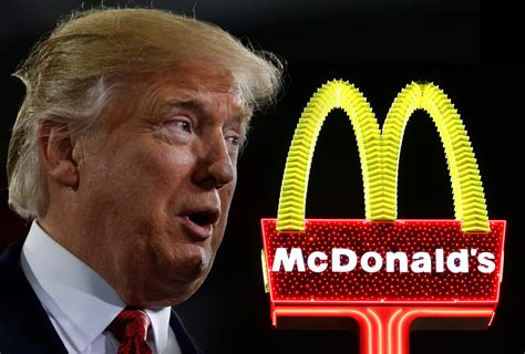 donald trump mcdonalds el falso tweet de mcdonald s que enfureci 243 a trump