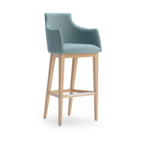 high back bar stools with arms albi high back bar stool from ultimate contract uk