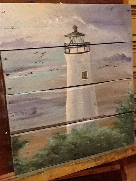painting pallet tips and ideas wooden pallet home ideas pallet idea lighthouses signs and nautical on pinterest