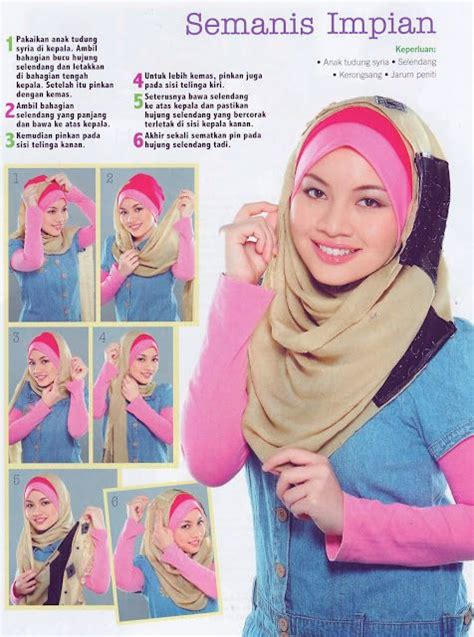 tutorial hijab simple selendang 1000 images about hijab tutorials on pinterest simple