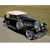 1929 Duesenberg Model J 355 2225 Convertible Sedan SWB