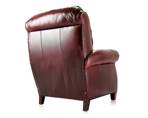 american recliners american made reclining leather chair martin cl701