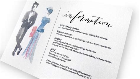 wedding attire invitation invitation sle dress code choice image invitation