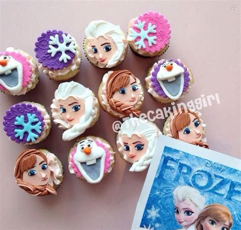 Disney Frozen Cupcake Decorations by Disney Frozen Cupcake Toppers Client Cake Ideas