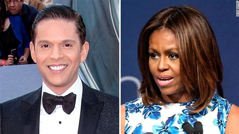 what does michelle obama really look like without her wig univision host fired for first lady comment says white