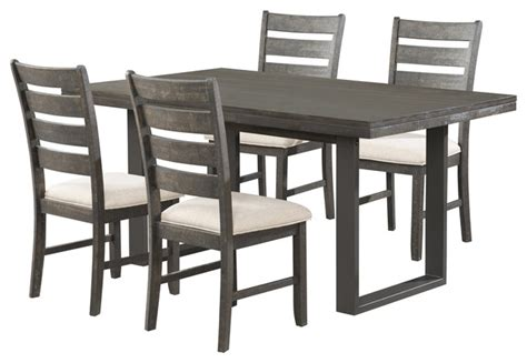 Sullivan Dining Table Sullivan Dining Table With 4 Side Chairs Transitional Dining Chairs By Picket House