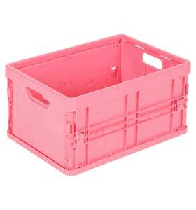Bathroom Toy Storage by Storage Solutions Plastic Small Foldable Crate 328526 328540