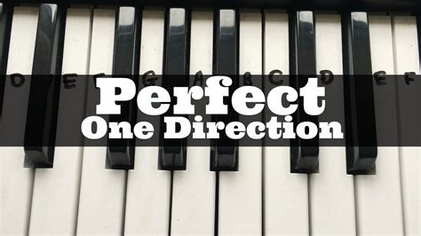 tutorial perfect keyboard perfect one direction easy keyboard tutorial with