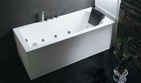 eago bathtub eago am154 6 skirted whirlpool tub modern bathtubs