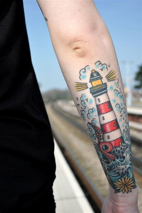 simple lighthouse tattoo lighthouse tattoos designs ideas and meaning tattoos