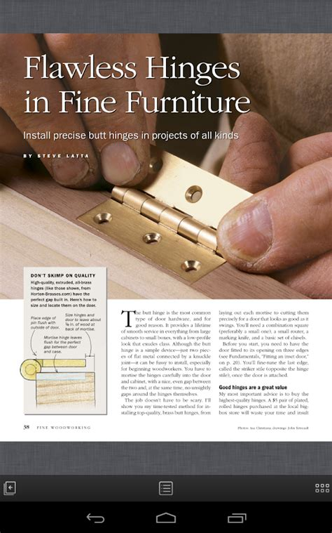 apps for woodworking woodworking magazine android apps on play