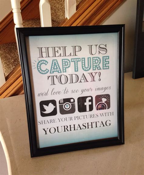 Wedding Hashtag Sign by Hashtag Wedding Display By Simpleandstunning2