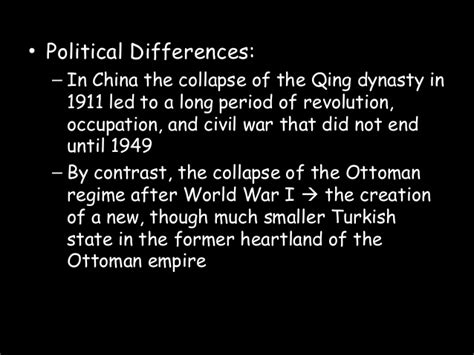 What Led To The Decline Of The Ottoman Empire Decline Of The Ottoman And Qing Troubles External Threats