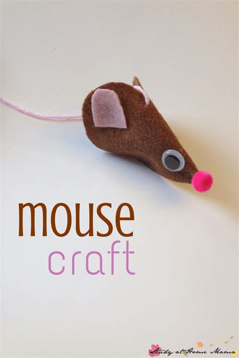 mouse craft for mice craft sugar spice and glitter