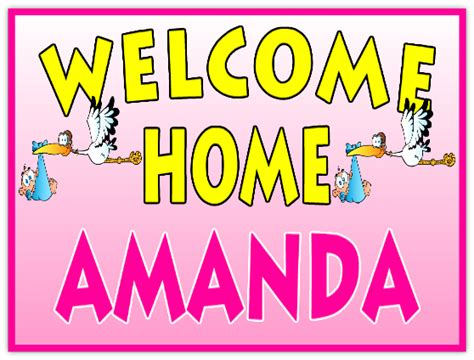 welcome home 111 welcome home sign templates templates
