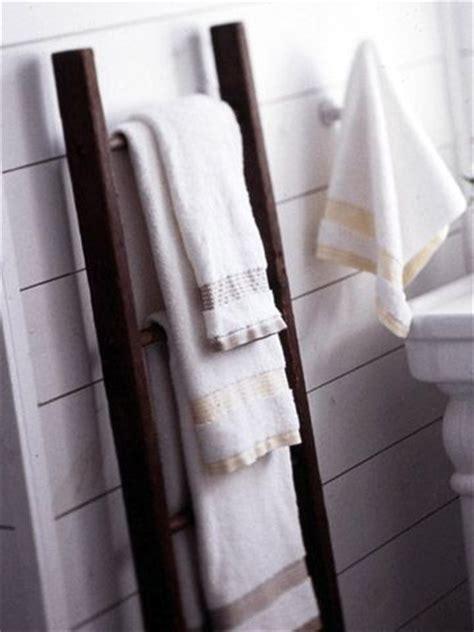 ladder towels   ladder  pinterest