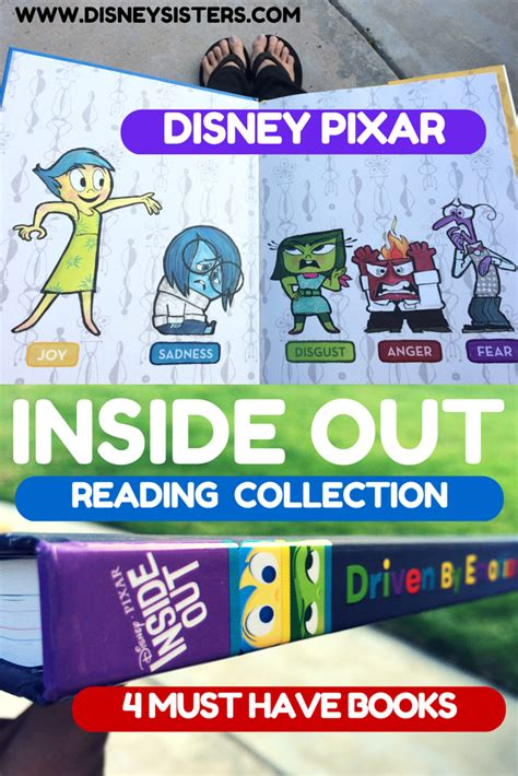 inside out books disney inside out books get to the emotions
